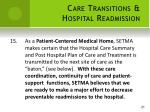 care transitions hospital readmission15
