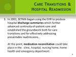 care transitions hospital readmission3