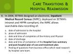 care transitions hospital readmission6