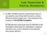 care transitions hospital readmission7