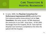 care transitions hospital readmission8