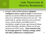 care transitions hospital readmission9