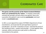 coordinated care
