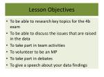 lesson objectives1
