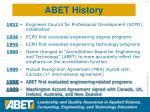 abet history1