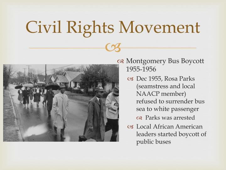 the new civil rights movement Although the southern civil rights movement first made national headlines in the 1950s and 1960s, the struggle for racial equality in america had begun long before.