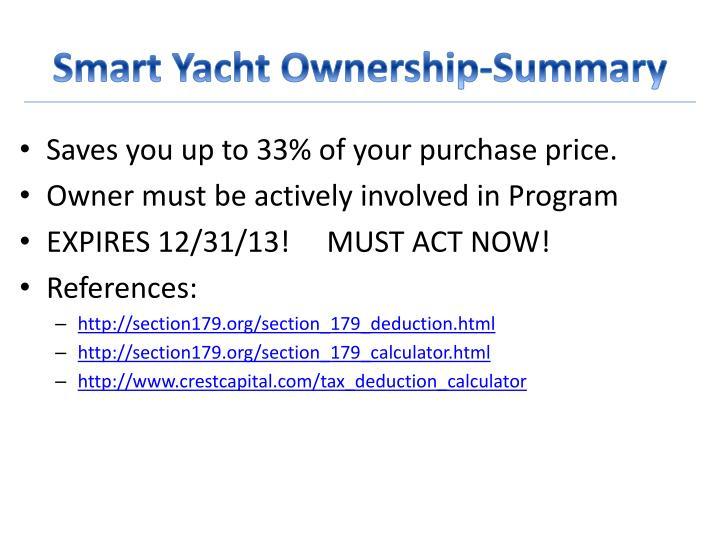 Smart Yacht