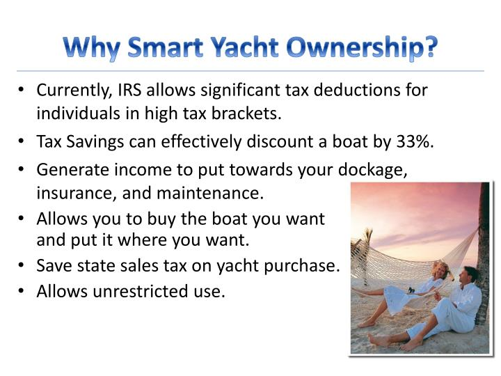 Why smart yacht ownership