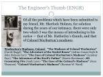 the engineer s thumb engr