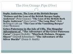 the five orange pips five2