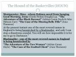 the hound of the baskervilles houn1