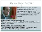 the naval treaty nava