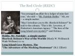 the red circle redc