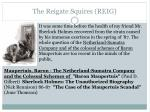 the reigate squires reig