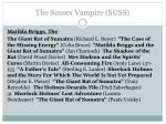 the sussex vampire suss1