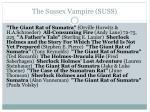 the sussex vampire suss3