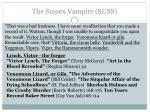 the sussex vampire suss4