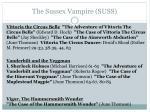 the sussex vampire suss5