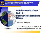 global economic trade outlook economic cycles and maritime shipping