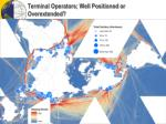 terminal operators well positioned or overextended