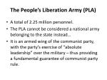 the people s liberation army pla