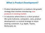 what is product development