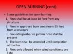 open burning cont1