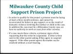 milwaukee county child support prison project1