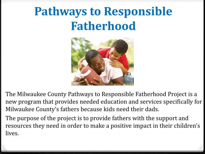 Pathways to Responsible Fatherhood