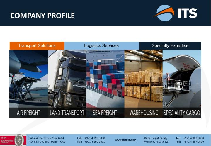 PPT - Logistics Services PowerPoint Presentation - ID:1671455