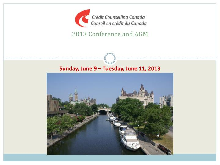 2013 conference and agm n.