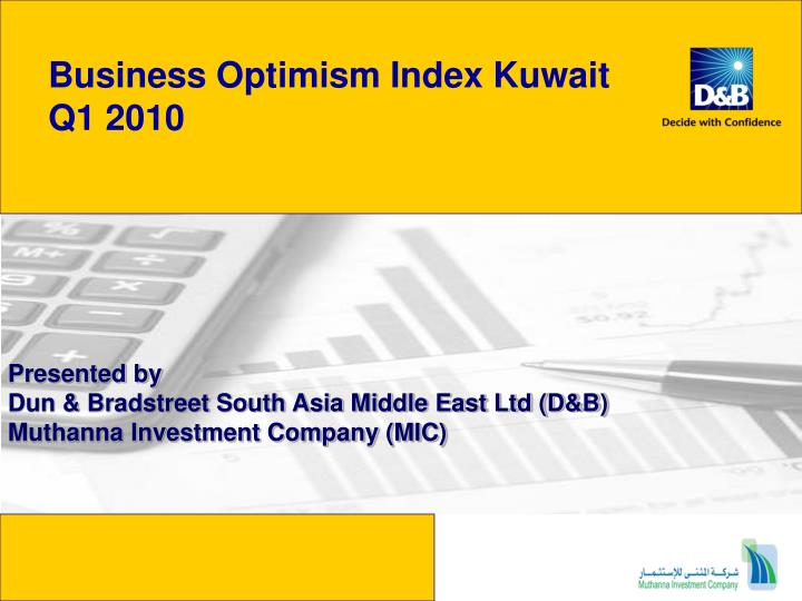business optimism index kuwait q1 2010 n.
