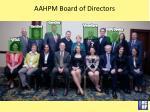 aahpm board of directors1