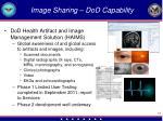 image sharing dod capability