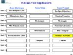in class tool applications1