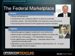 the federal marketplace