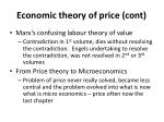 economic theory of price cont