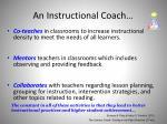 an instructional coach1
