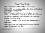 coaching logs