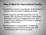 way of work for instructional coaches1