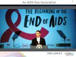 an aids free generation