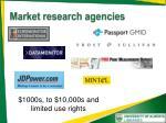 market research agencies