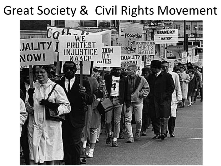 great society civil rights movement n.
