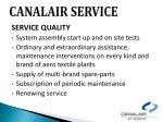canalair service1