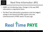 real time information rti1