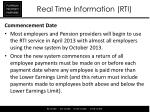 real time information rti11