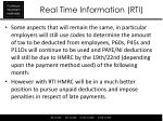 real time information rti4