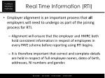 real time information rti8