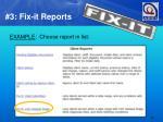 3 fix it reports1