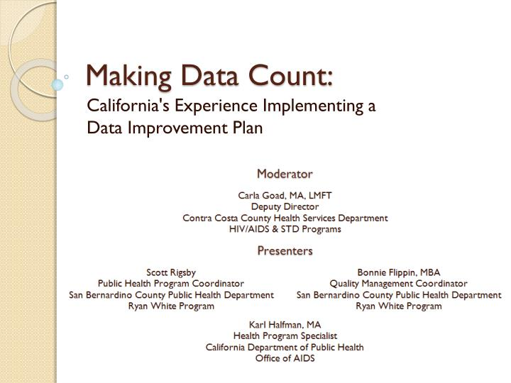 making data count n.